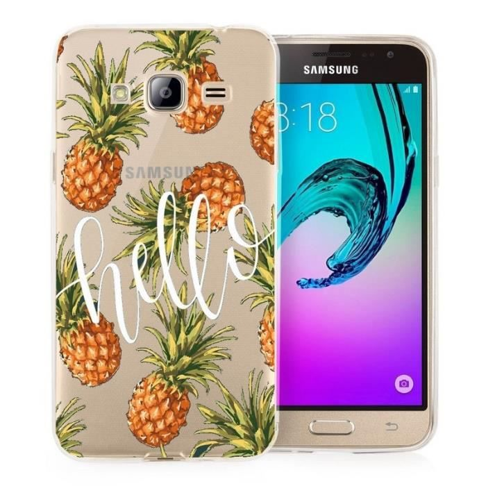 coque samsung j3 2016 tropical