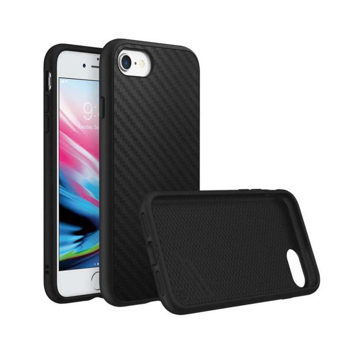 solidsuit fibre de carbone iphone 7 plus 8 plus rh