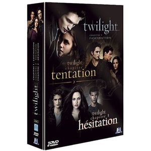 DVD FILM DVD Coffret Twilight : fascination : tentation ...