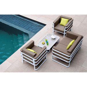 CAP COD Salon Bas - Achat / Vente ensemble table et chaise ...