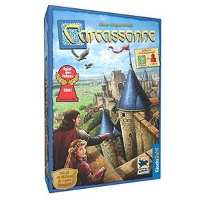 JEU SOCIÉTÉ - PLATEAU Giochi Uniti Jeu de Plateau Carcassonne (Version f