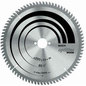 ACCESSOIRE MACHINE Bosch 2608640430 Lame de scie circulaire Optiline