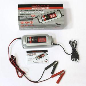 CHARGEUR DE BATTERIE Chargeur de batterie 6/12 Volt, 3 Ampères