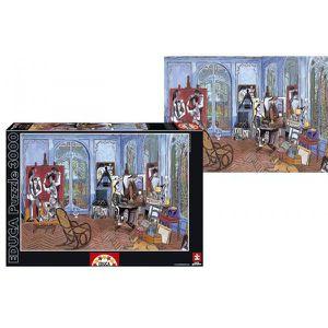 PUZZLE Educa - 15539 - 3000 l'atelier de Picasso
