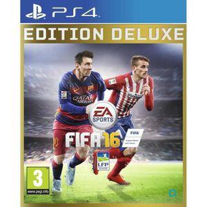 JEU PS4 FIFA 16 Edition Deluxe Jeu PS4