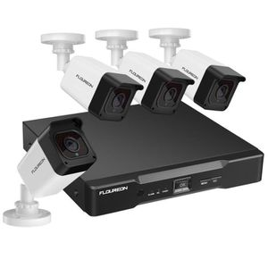 CAMÉRA DE SURVEILLANCE Kit Caméra de surveillance - FLOUREON - 8CH True 1