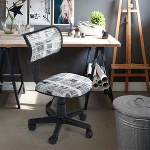 CHAISE DE BUREAU Chaise de bureau imprimée maille plastique