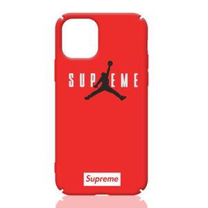 COQUE - BUMPER Coque iPhone 11,Supreme Air Jordan Rouge Coque Com
