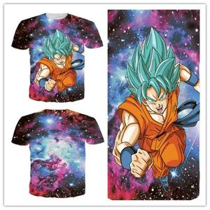 T-SHIRT Dragon Ball T Shirt Homme Mode Slim Fit Tee Shirt