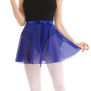 JUPETTE DE DANSE Femme Fille Jupe Danse Classique Mousseline de Soi