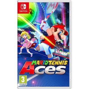 JEU NINTENDO SWITCH Mario Tennis Aces Jeu Switch + Mochi Squishy offer