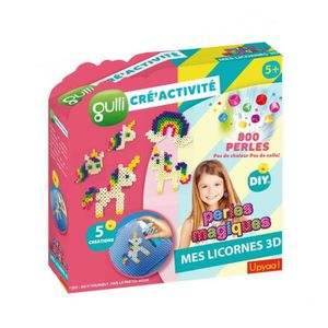 JEU DE PERLE Á REPASSER Gulli Cré'activités Perles Magiques (800p) - Licor