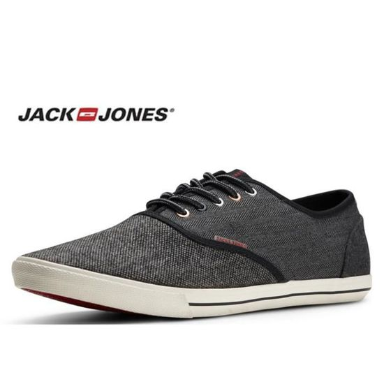 low priced ffa3c 9a6e5 Baskets toile Jack and Jones Spider wool anthracite 12110625 Anthracite -  Achat   Vente basket - Cdiscount