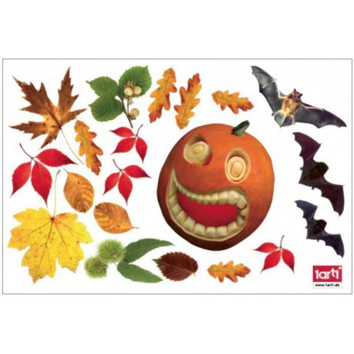 Halloween sticker adh sif fen tres autocollant achat for Decoration adhesif fenetre