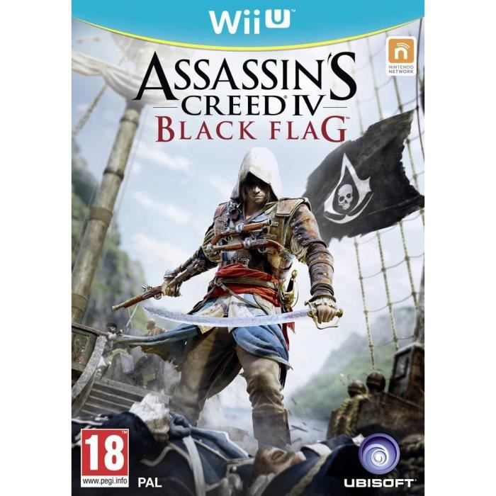 JEUX WII U Assassin's Creed IV Black Flag Jeu Wii U