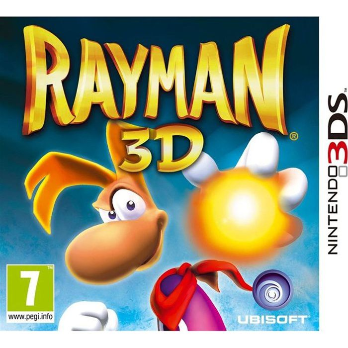 rayman 3d jeu console 3ds achat vente jeu 3ds rayman 3d jeu console 3ds cdiscount. Black Bedroom Furniture Sets. Home Design Ideas