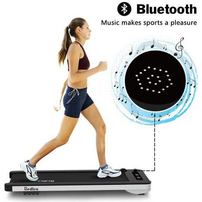 TAPIS DE COURSE Fitness, tapis de marche , avec haut-parleurs audio Bluetooth et télécommande sans fil
