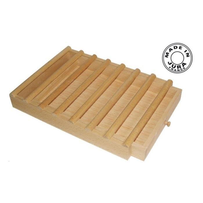 Planche à pain à tiroir - Pour les grands - Pour la cuisine - Planches à découper
