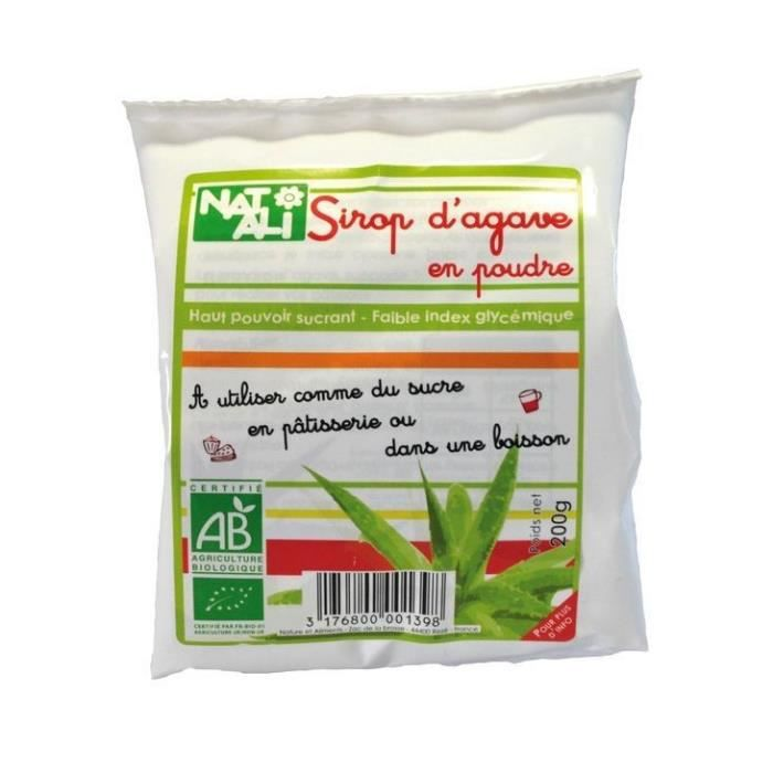 Sirop agave poudre 200gr