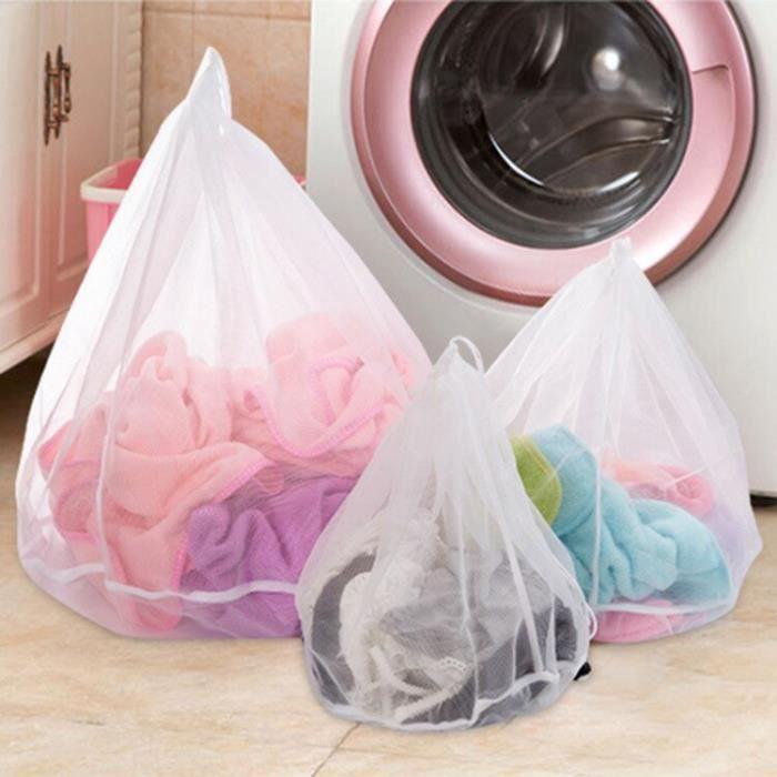 Filet de Protection en maille 3 tailles, sacs de lavage de linge, sous-vêtements pliants, soutien-gorge chaussettes, [F8E42A0]
