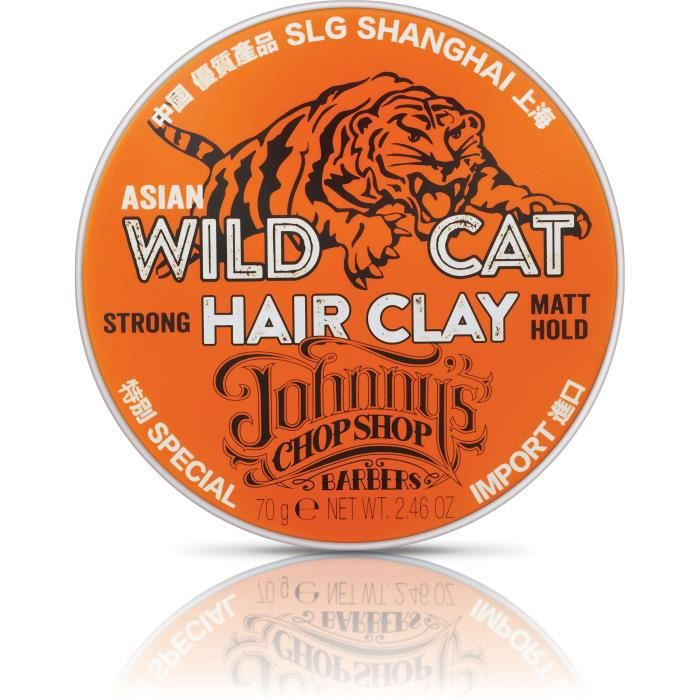 Johnny's Chop Shop, wild cat, hair clay