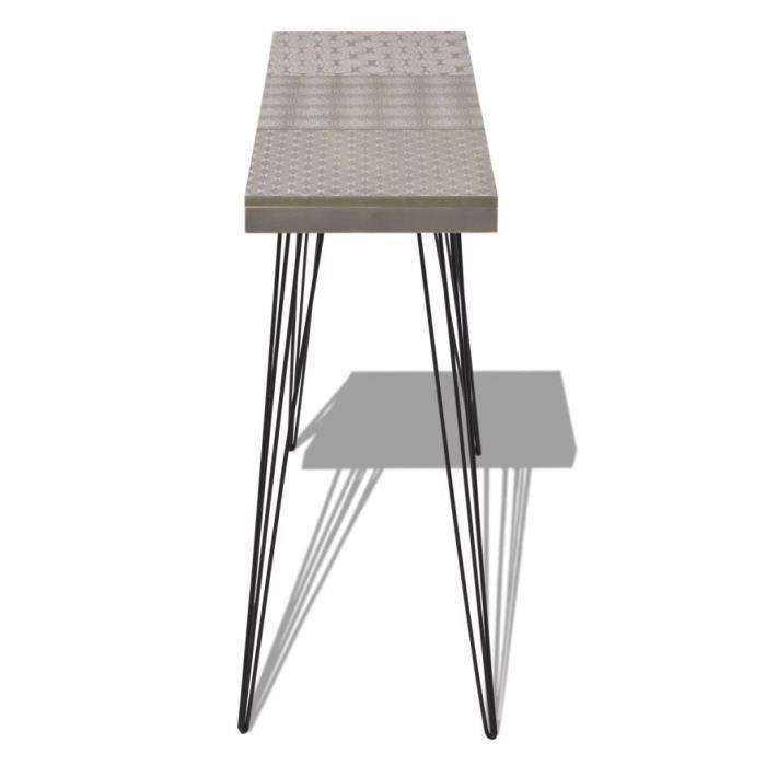Contemporain Console minimaliste,Table d'entrée Vintage table d'entrée, table de canapé stable, 90 x 30 x 71,5 cm Versio-3_Camsoos