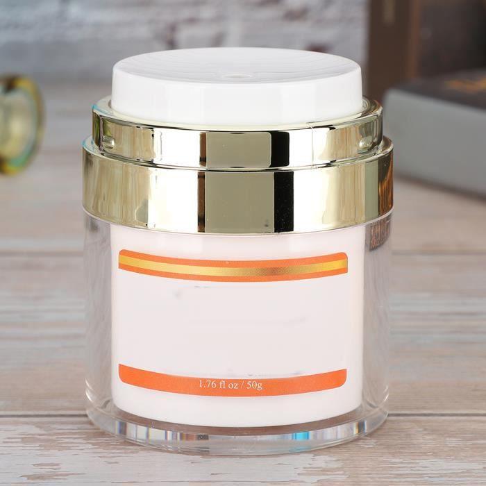 Crème hydratante pour le visage 50g, crème pour le visage anti-âge avec vitamine C/E et extrait d'aloe vera et hyaluronique, pour