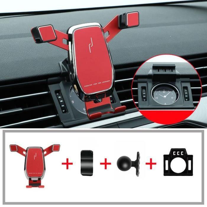 Supports voiture,Support de téléphone portable pour Volkswagen passat b8, arteon, variante 2016, 2017, 2018, 2019 - Type red
