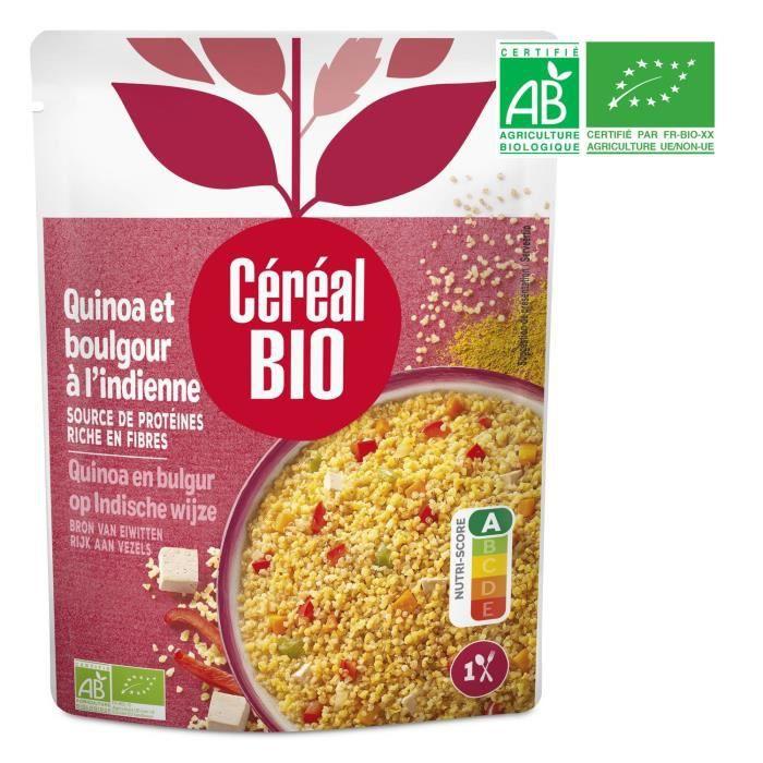 Quinoa et boulghour bio 2 g Cereal Bio