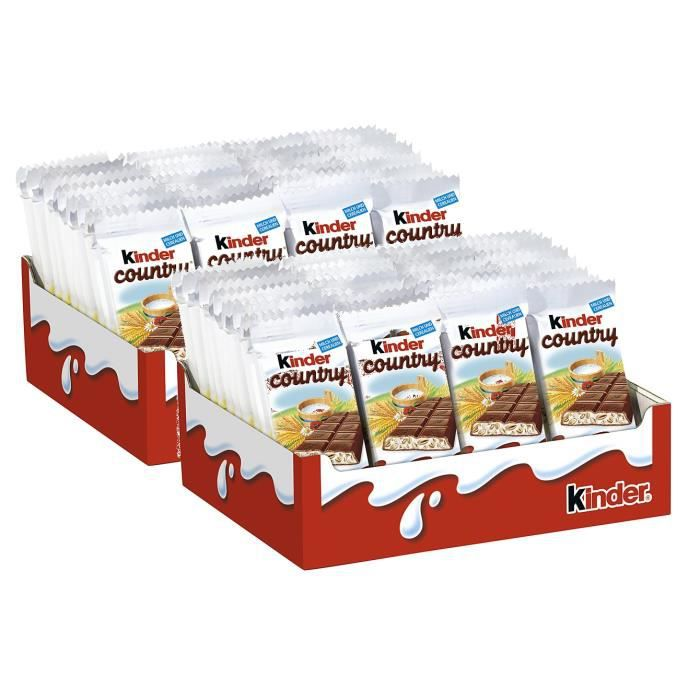 Ferrero Kinder Country Barres 80 x 23,5g