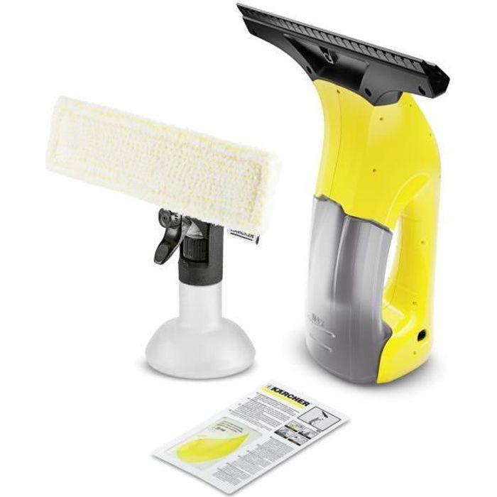 Nettoyeur vitre sans fil KARCHER WV 1 Plus - 100 ml (batterie intégrée)