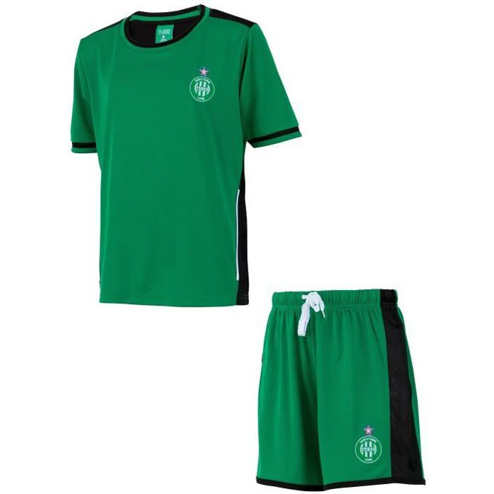 Ensemble Maillot short ASSE - Collection officielle AS Saint Etienne - Enfant