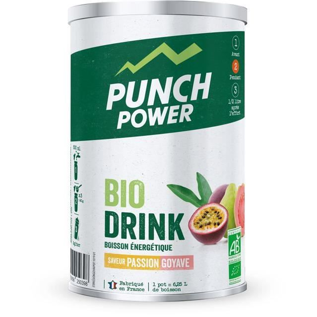 PUNCH POWER Biodrink Passion goyave - Pot 500 g