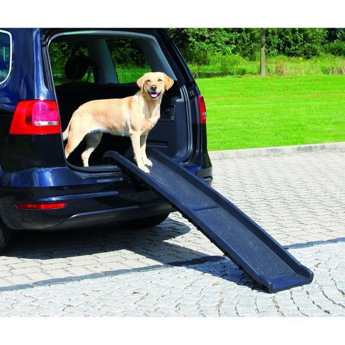 TRIXIE Rampe pour animaux de compagnie 40x156 cm 90 kg Noir