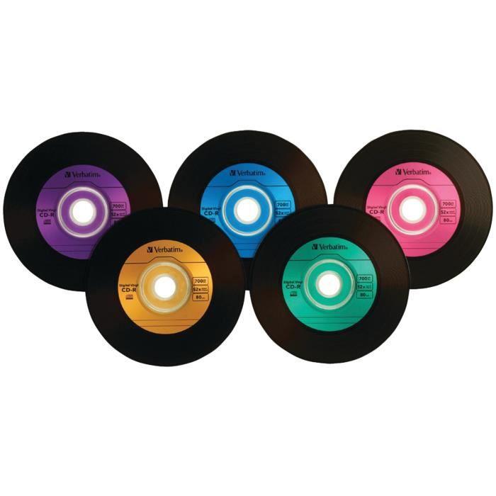 Verbatim CD-R52X DIGITAL VINYL