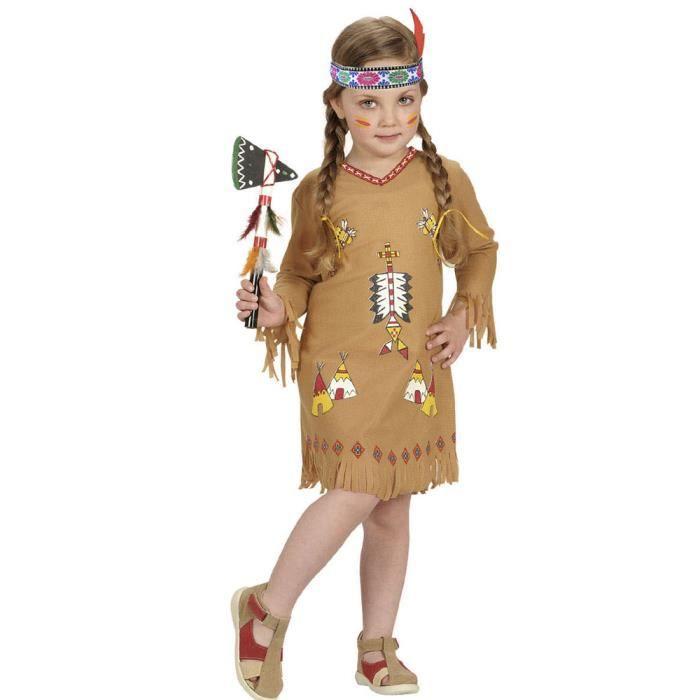 Déguisement Pow Wow - Enfant - 2/3 ans (86 à 94 cm) Coloris Unique