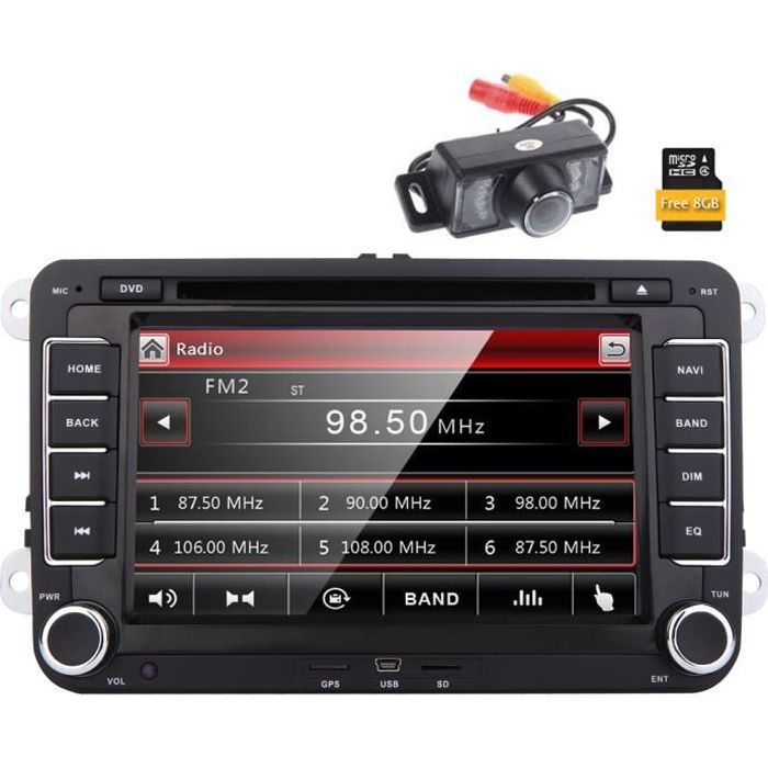 autoradio double din gps achat vente autoradio double. Black Bedroom Furniture Sets. Home Design Ideas