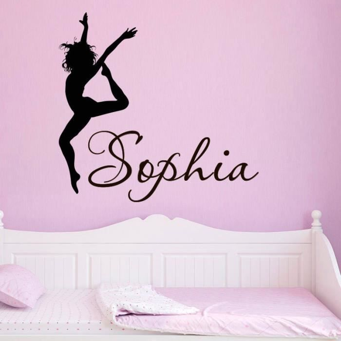 Stickers muraux danse yoga chambre d enfant salon chambre for Chambre yoga
