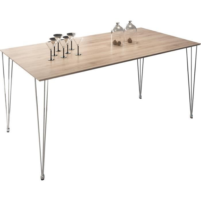 table a manger industrielle achat vente table a manger. Black Bedroom Furniture Sets. Home Design Ideas