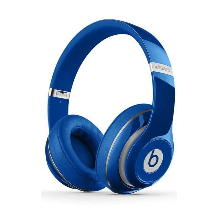 beats studio wireless bleu casque audio bluetooth achat vente casque couteur audio beats. Black Bedroom Furniture Sets. Home Design Ideas