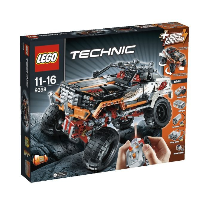 lego technic le 4 x 4 crawler achat vente assemblage construction cdiscount. Black Bedroom Furniture Sets. Home Design Ideas
