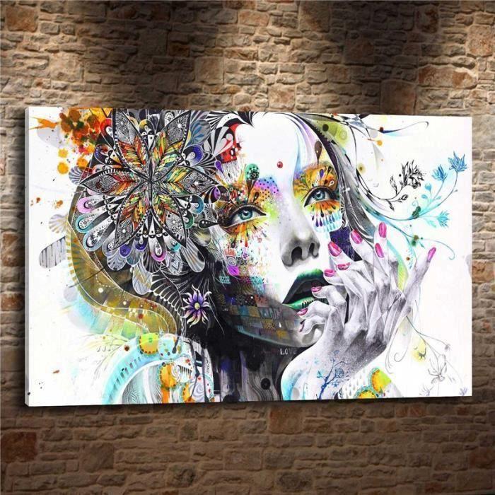 Home Décor Wall Art Peinture à l'huile Abstract