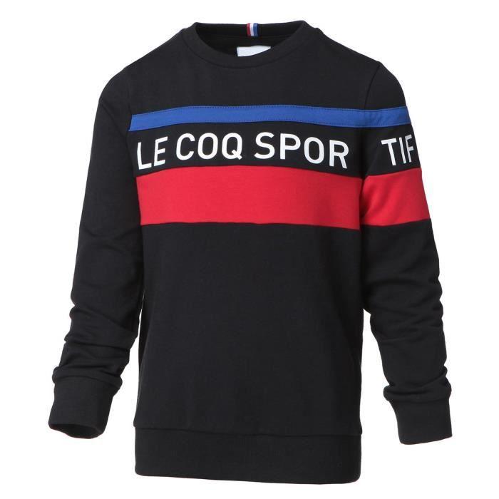 sweatshirt homme essentiels crew-le coq sportif
