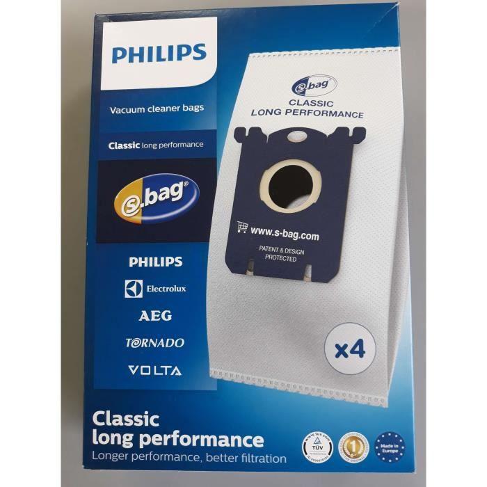 20 Sacs Aspirateur Pour PHILIPS FC 8021 S-Bag