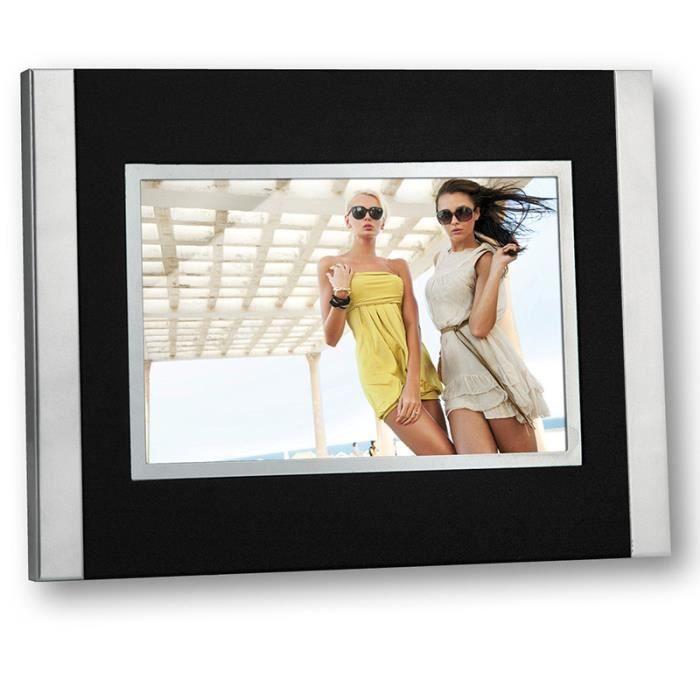 """photo cadre Argent solide cadre photo 10 x 8 /"""" // 8 x 10/"""" retour de velours de Carr"""