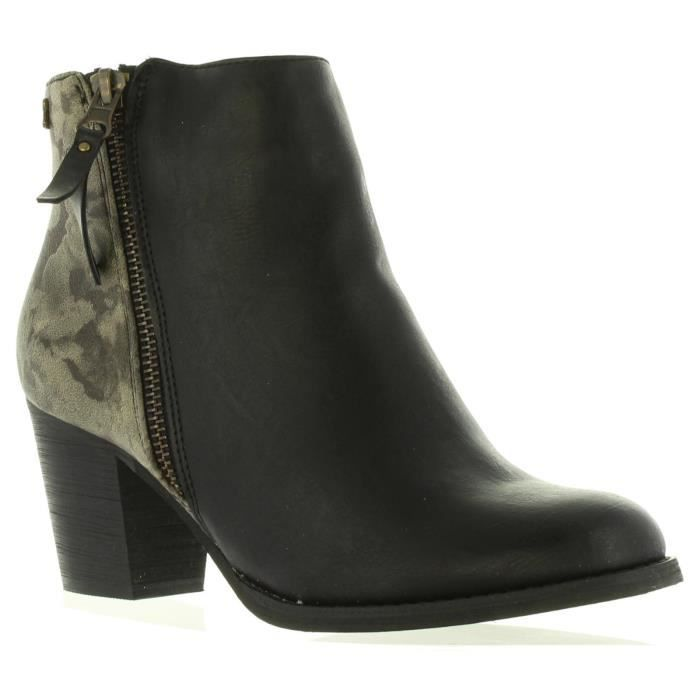 Bottines pour Femme REFRESH 62255 C NEGRO