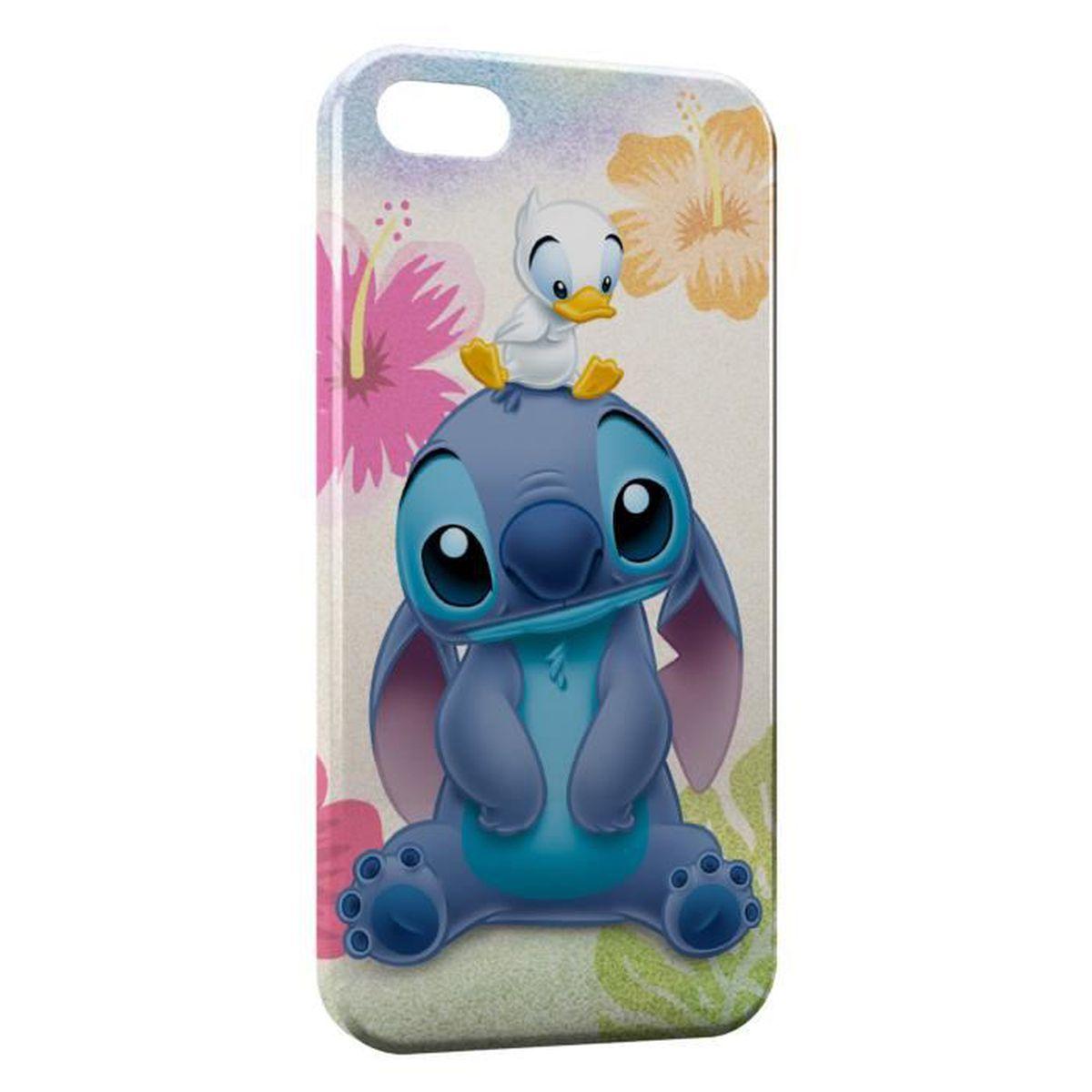 Coque iPhone 5 & 5S Stitch Canard - Cdiscount Téléphonie