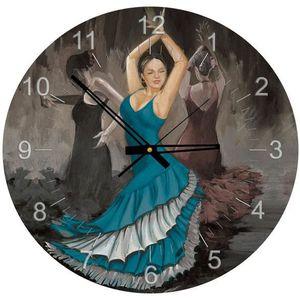 PUZZLE Puzzle 570 pièces Puzzle Horloge - Flamenco (Pile