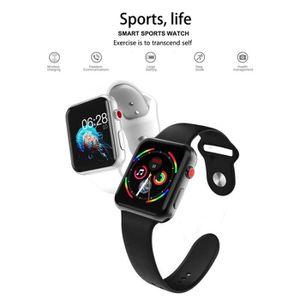 MONTRE CONNECTÉE  Montres connectées smartwatch - téléphone Android