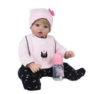 POUPÉE Réaliste bébé poupée 55cm nouveau-né poupée enfant